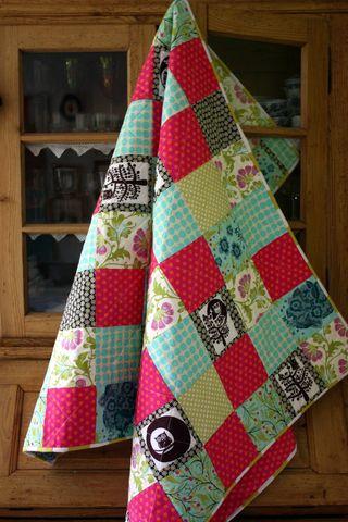 Mia's quilt 1