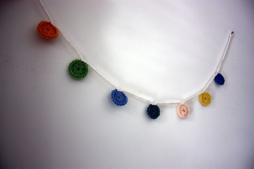 Crochet garland single 1